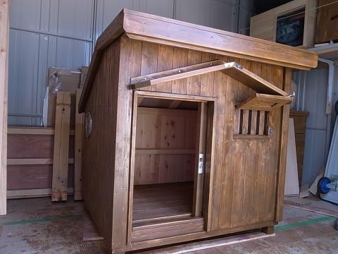 特注・桧の犬小屋